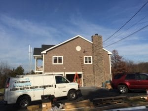 Stine chimney installation