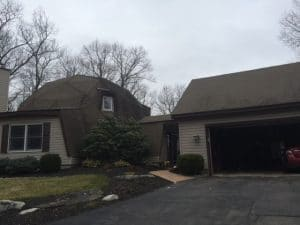Shingle roofing repair
