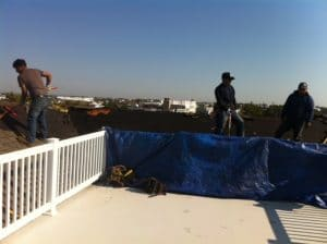 Roofing tear-off and installation