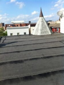 Gable roof repair