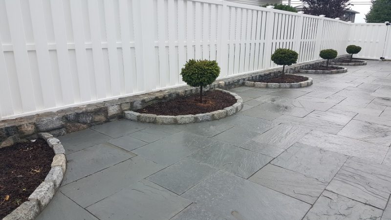 Blue Stone or Slate Patios